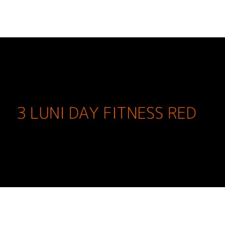 3 Luni Fitness NonStop RED