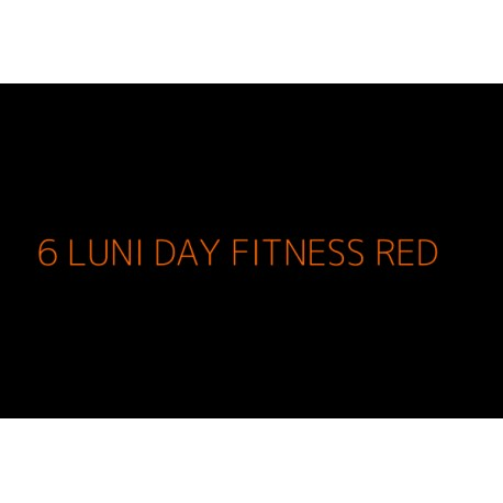 6 Luni Fitness NonStop RED